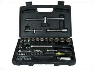 Socket Set of 50 Metric 1/4in & 1/2in Drive