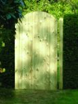 Tongue & Grooved Arched Gate 1.8m High x 0.9m Wide TG180