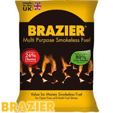 Brazier Multi-Purpose Smokeless Coal 20kg