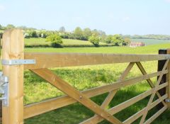Universal Wooden 5 Bar Field Gate