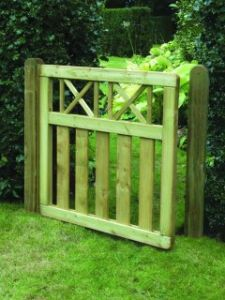 Elite Cross Top Gate 0.9m x 0.9m ECTG90