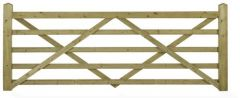Wooden Field Gate - Forester Universal Hanging