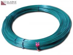 Green Plastic Coated Line Wire