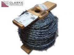 200m Roll Commercial Galvanised Barbed Wire (2.2mm)