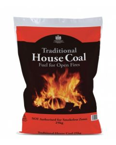 Traditional Open Fire House Coal - 20kg