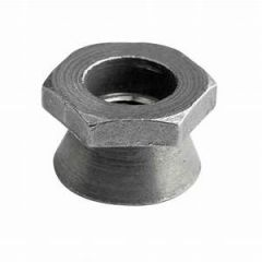 Cone Head Security Nuts Galvanised