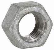 Steel Hex Nuts Galvanised