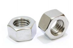 Steel Hex Nuts Bright Zinc Plated (BZP)
