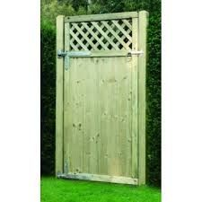 Tongue & Groove Latice Top Gate