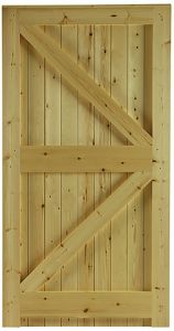 1.75m High Tongue & Groove Gates 0.9m Wide
