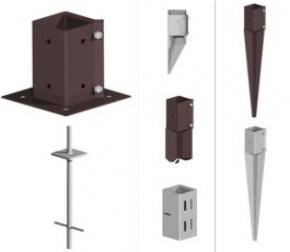 Fence Post Supports &  Extenders