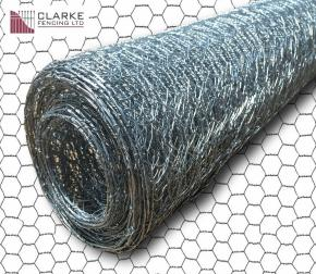 Pre-Galvanised Wire Netting