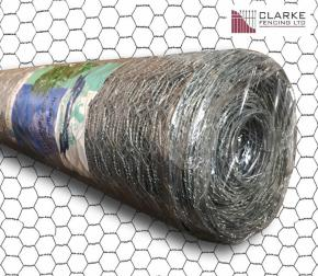 Hot-Dipped Galvanised Wire Netting